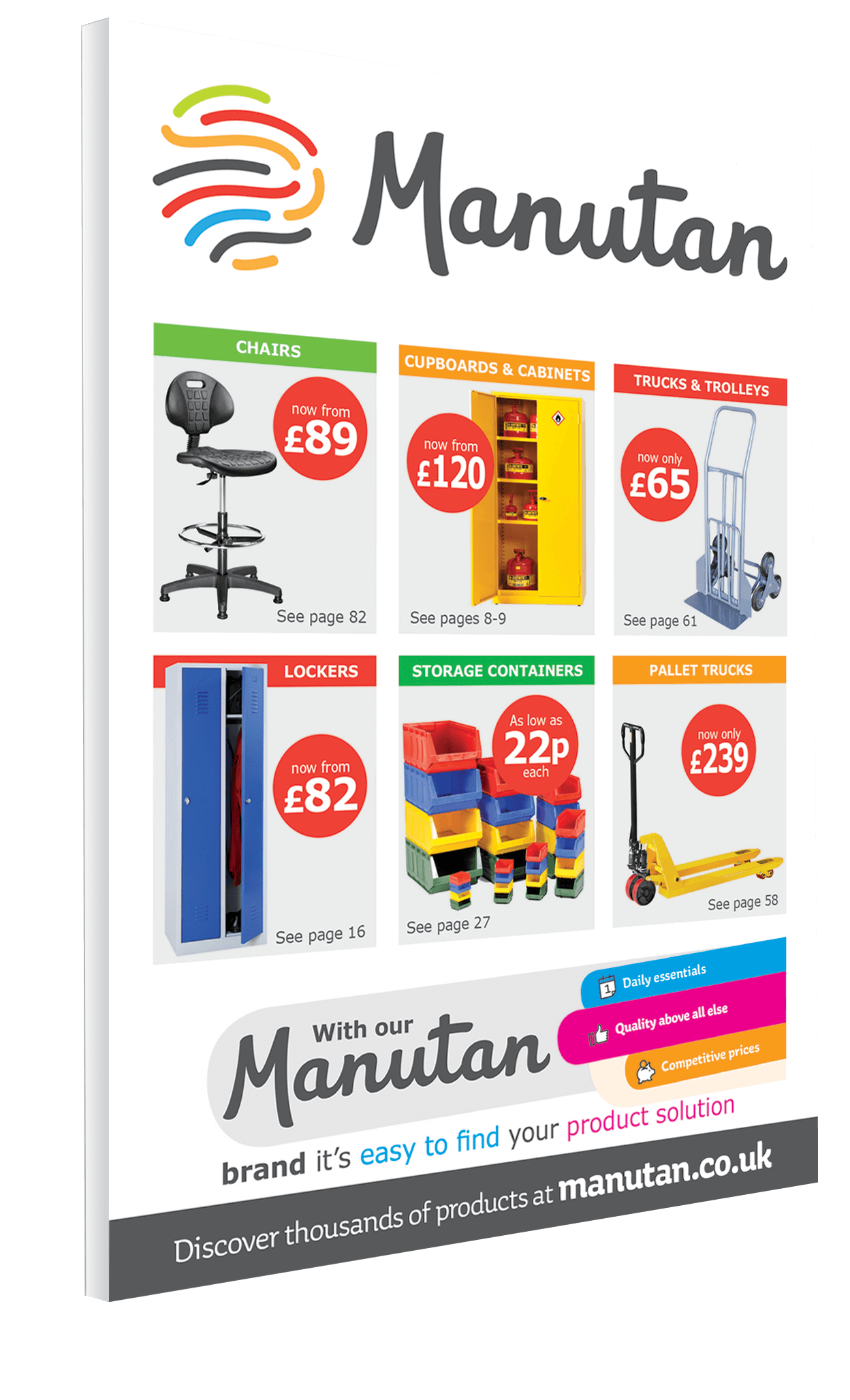 Manutan Catalogue example