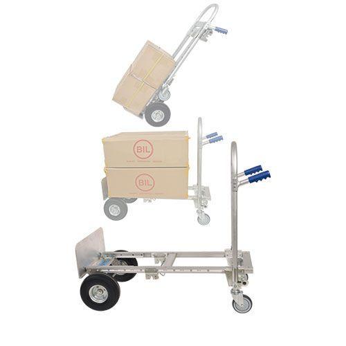 AluTruk Two-Position Convertible Handtruck