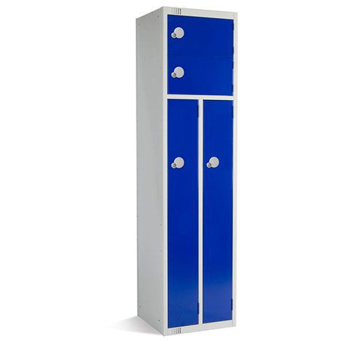 Elite Guard 2 Person Lockers - 1800x450x450mm