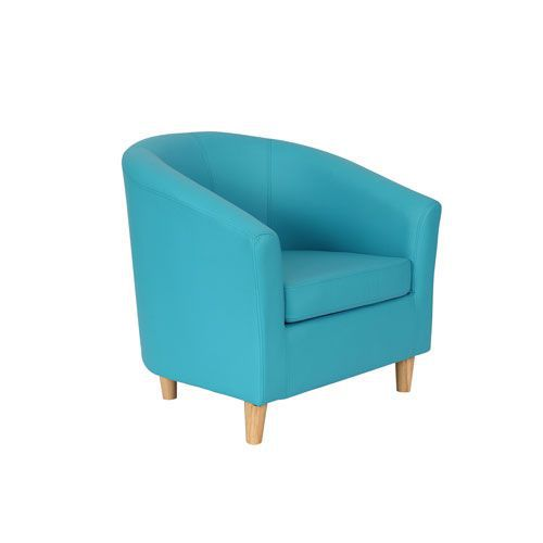 Remarkable Coloured Faux Leather Tub Chairs Reception Chairs Manutan Uk Machost Co Dining Chair Design Ideas Machostcouk