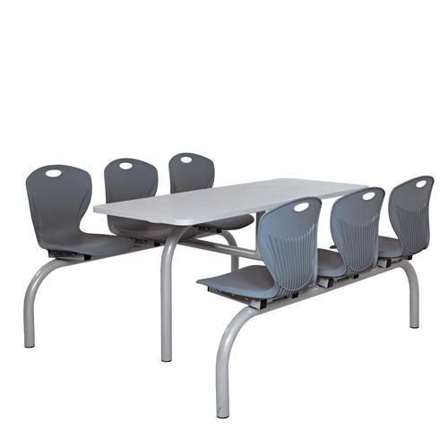 Incredible Canteen Table With 4 Or 6 Fixed Chair Canteen Furniture Manutan Uk Ocoug Best Dining Table And Chair Ideas Images Ocougorg